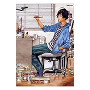 Купить портретные постеры Bakuman