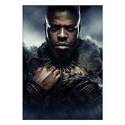 Купить портретные постеры Black Panther