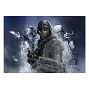 Портретный постер Call of Duty