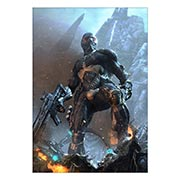 Портретный постер Crysis