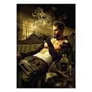 Портретный постер Deus Ex