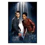 Портретный постер Doctor Who
