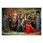 Купить портретные постеры Emerald City