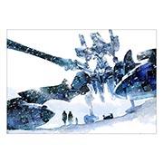 Портретный постер Neon Genesis Evangelion
