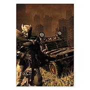 Купить портретные постеры Fallout