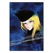 Портретный постер Galaxy Express 999