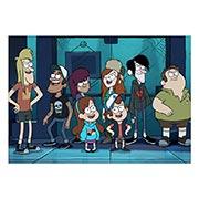 Портретный постер Gravity Falls