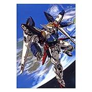 Портретный постер Gundam