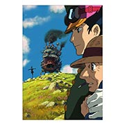 Портретный постер Howl's Moving Castle