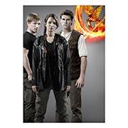 Купить портретные постеры Hunger Games