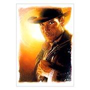 Портретный постер Indiana Jones