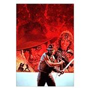 Купить портретные постеры Indiana Jones