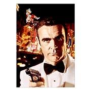 Портретный постер James Bond: Diamonds Are Forever