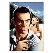 Купить портретные постеры James Bond: Dr. No
