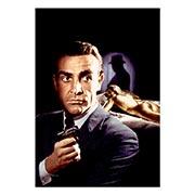 Купить портретные постеры James Bond: Goldfinger