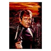 Портретный постер James Bond: Live and Left Die