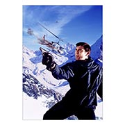 Портретный постер James Bond: On Her Majesty's Secret Service