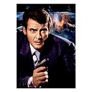 Портретный постер James Bond: The Spy Who Loved Me