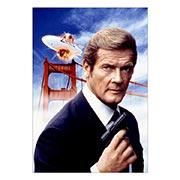 Портретный постер James Bond: A View to a Kill