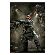 Портретный постер Killzone