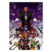 Купить портретные постеры Kingdom Hearts