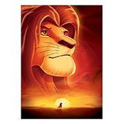 Портретный постер Lion King