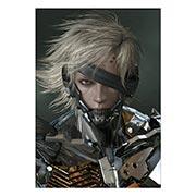 Купить портретные постеры Metal Gear Solid