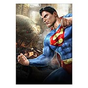 Портретный постер Mortal Kombat