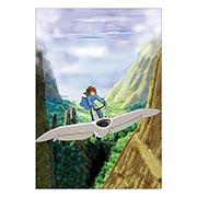 Купить портретные постеры Nausicaa of the Valley of Wind