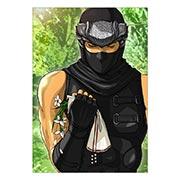 Портретный постер Ninja Gaiden
