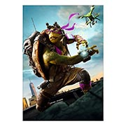 Портретный постер Ninja Turtles