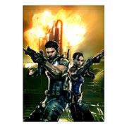 Портретный постер Resident Evil