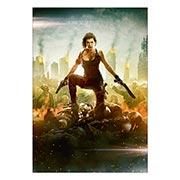 Купить портретные постеры Resident Evil