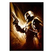 Портретный постер RoboCop