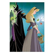 Портретный постер Sleeping Beauty