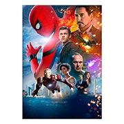 Портретный постер Spider-man