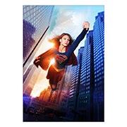 Купить портретные постеры Supergirl