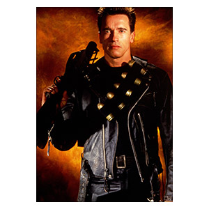 Купить портретные постеры Terminator