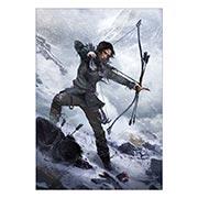 Портретный постер Tomb Rider