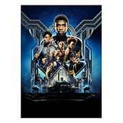 Панорамный постер по аниме/манге Black Panther