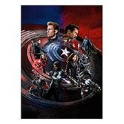 Панорамный постер Captain America