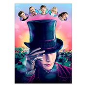 Панорамный постер Charlie and the Chocolate Factory