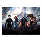 Панорамный постер Fantastic Four