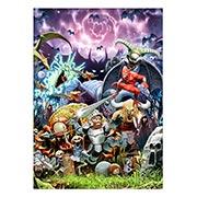 Купить панорамные постеры Ghosts and Goblins