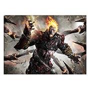 Панорамный постер God of War