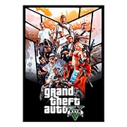 Панорамный постер по аниме/манге Grand Thieft Auto
