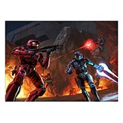 Панорамный постер Halo