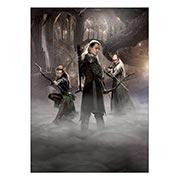 Купить панорамные постеры Hobbit
