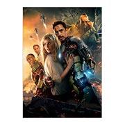 Панорамный постер Iron Man