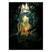 Панорамный постер Jungle Book